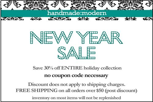 2012 new year sale flyer