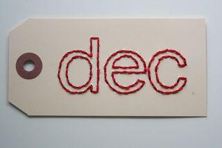 Dec tag red