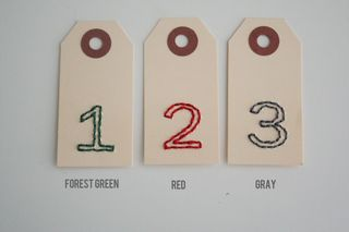 1-31 embroidered tags pre order MIX
