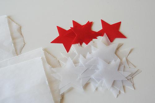 vellum holiday stars