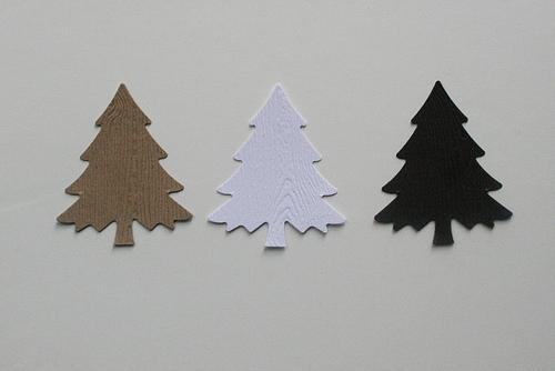 woodgrain trees